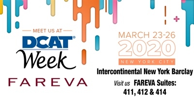 Meet with Fareva at the DCAT Week in NYC